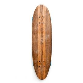 Hand shaped oak skateboard by DL Skateboards