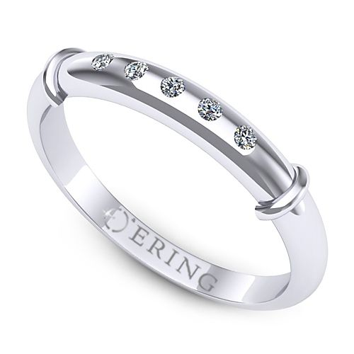 Inel logodna L57ADI Inel cu diamante
