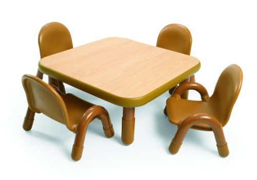 Angeles Toddler Table & Chair Set NATURAL « Game Searches
