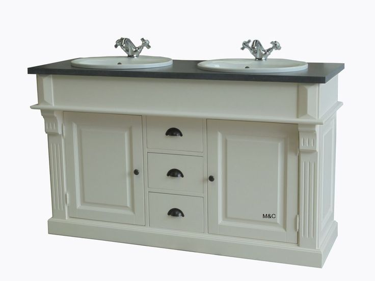 détail du JVS dans la salle de bain / Bathroom Pinterest - Meuble De Salle De Bain Sans Vasque