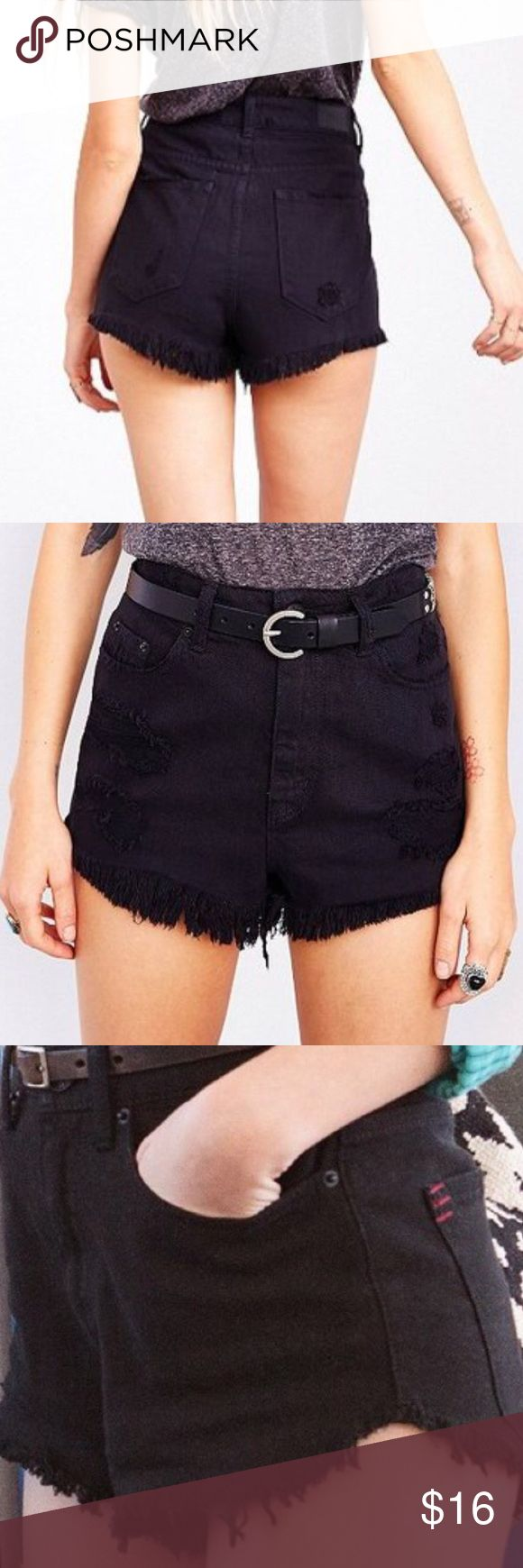 Urban Outfitters BDG super high rise cheeky shorts No fading. Never worn. Super cute high rise cheeky. Completely SOLD OUT at UO and UO online BDG Shorts