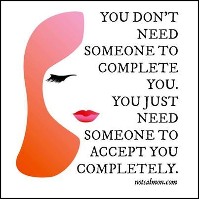Someone to Complete You