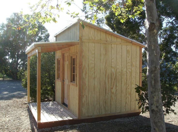1000 images about storrage shed ideas on pinterest for Shed with covered porch