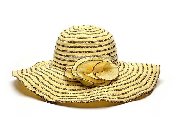 Prom Lady Hats VO17 yellow