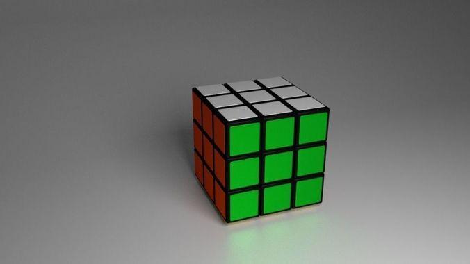 Rubriks Cube | 3D Model
