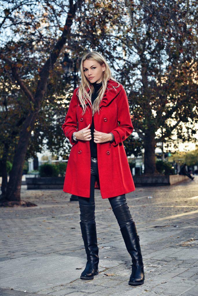 red coat , natali thanou