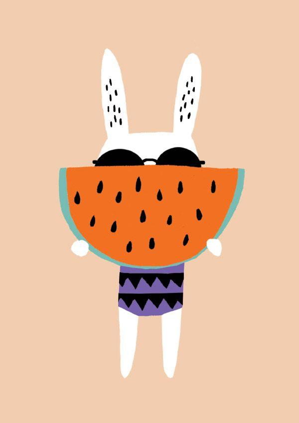 Becky Baur - Watermelon