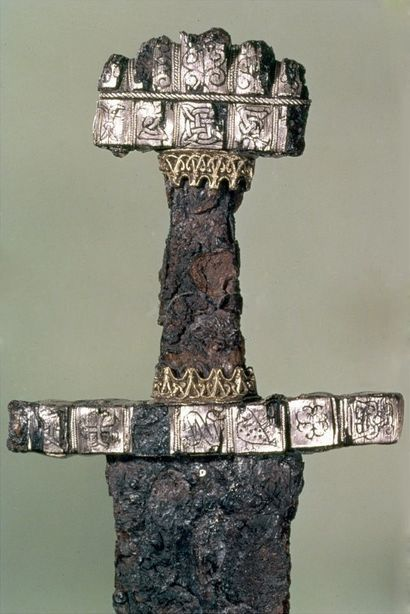 Hilt of a Viking Sword - Found at Hedeby, Denmark, 9th Century