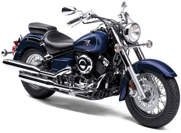 """Maybe it's because spring is in the air, but I am reconsidering my """"no interest in motorcycles"""" policy. - Yamaha V Star Classic,"""