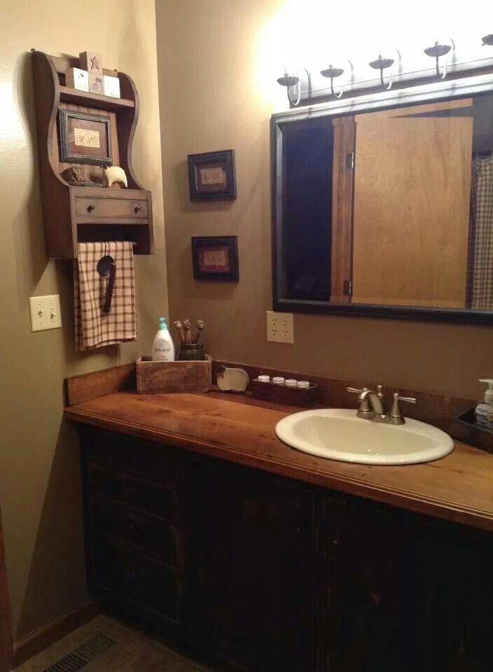 Best 20+ Primitive Bathroom Decor Ideas On Pinterest