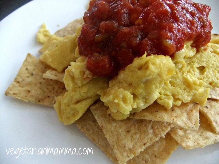 Egg Salsa Chips #Recipe. #Glutenfree