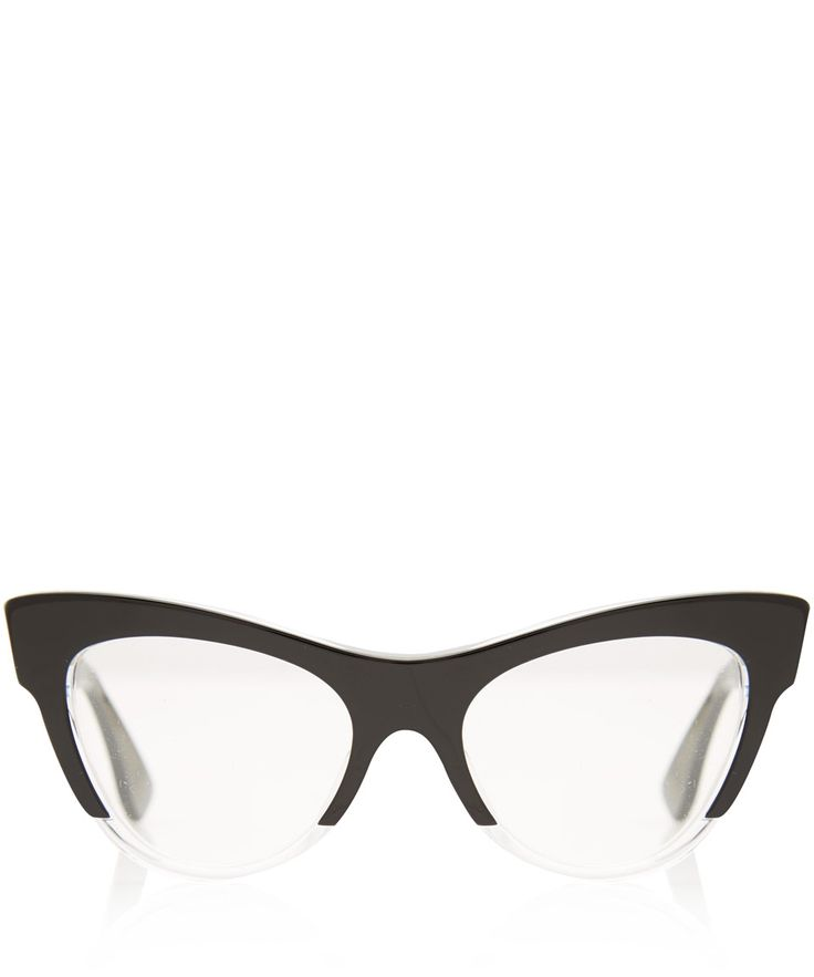 Miu Miu Black Acetate Cat Eye Glasses | Eyewear by Miu Miu | Liberty.co.uk
