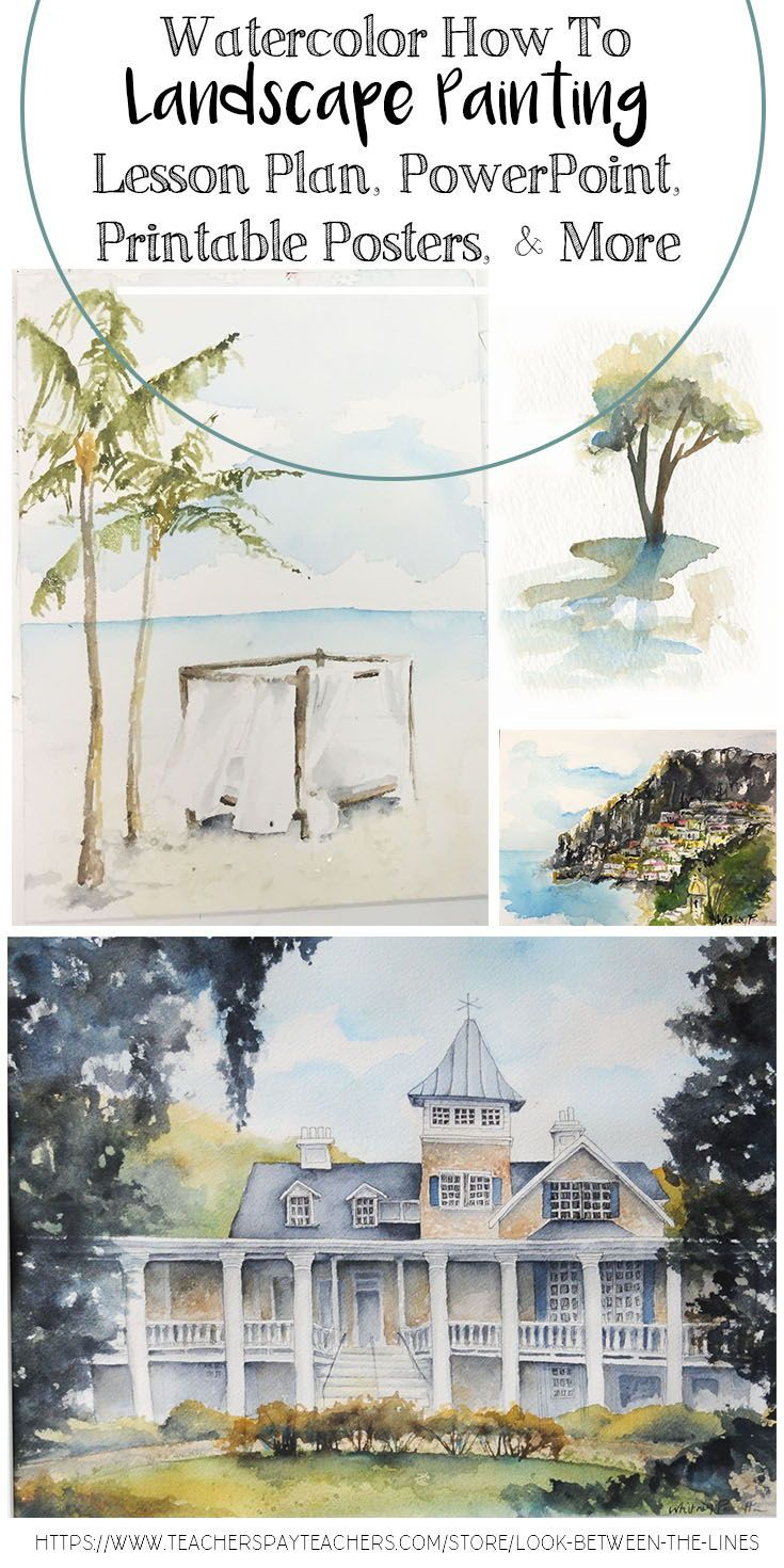 hight resolution of This watercolor lesson covers the basics of watercolors