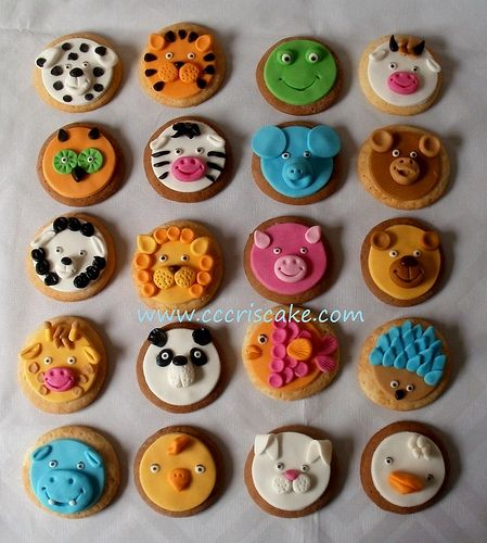 Cake Decorating Sugar Animals : 17 Best images about Animal (Farm) Cookies on Pinterest ...