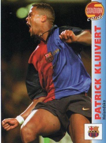 Patrick Kluivert, F.C. Barcelona 2000