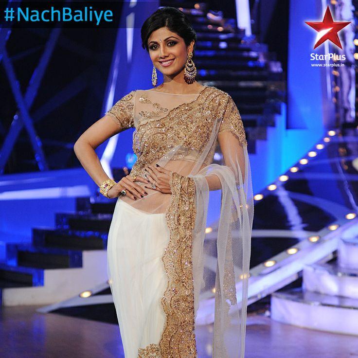 Shilpa Shetty always manages to make a style statement at #NachBaliye