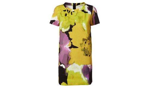 NIOI dress Post-It print colours