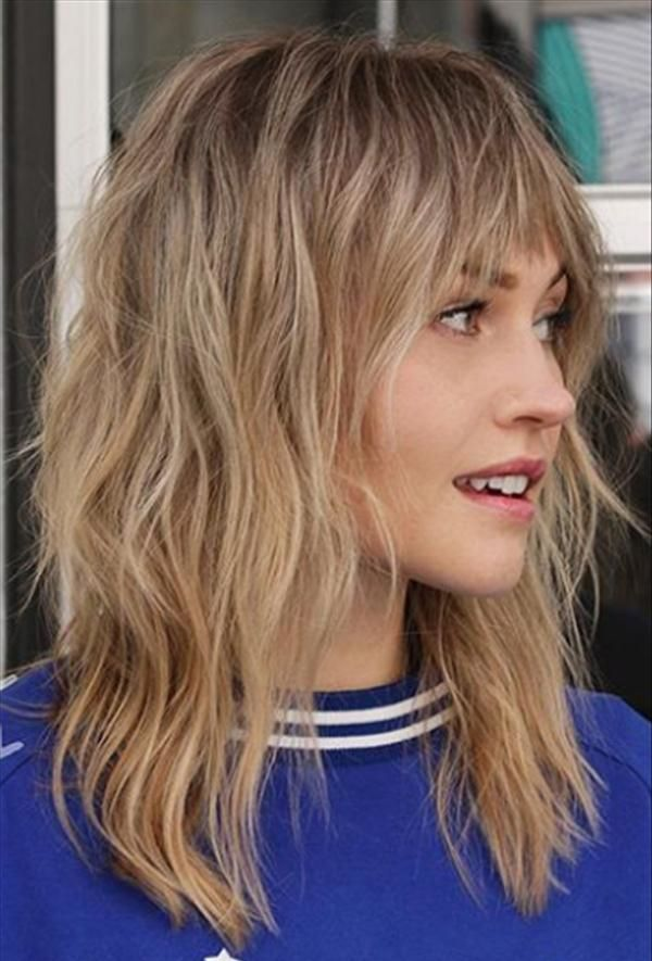 Want A New Hairstyle In 2020 How About Shaggy Bob Hair Latest Fashion Trends For Girls Medium Length Hair Styles Medium Shag Haircuts Hair Styles