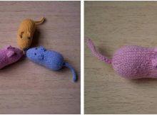 Mice Socks Free Knitting Pattern Freeknittingpattern Knittingsocks Knittingpatterns
