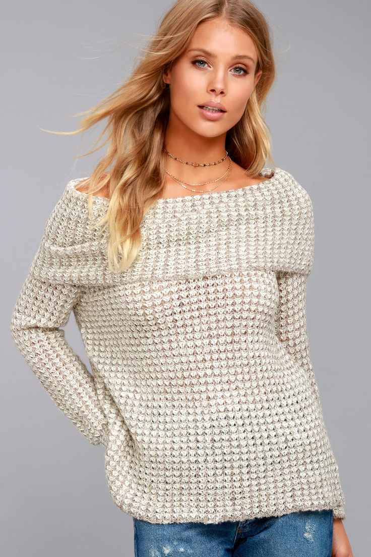 Fall Trend in Sweaters!