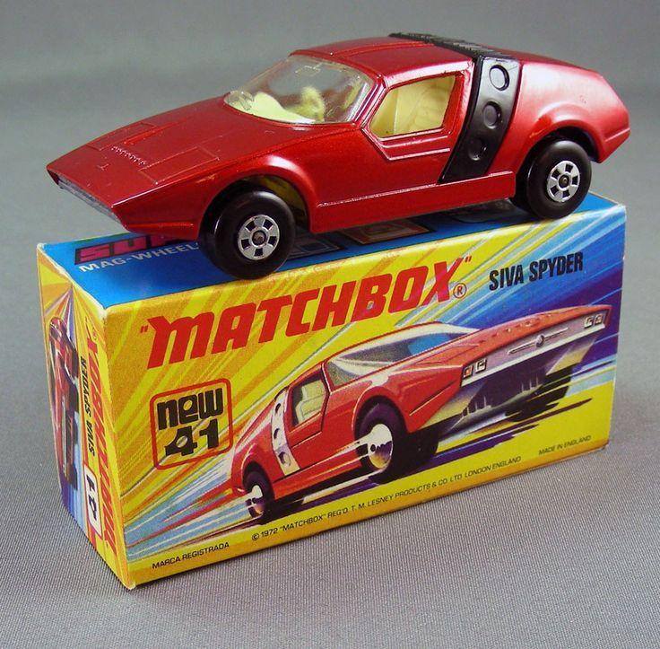 SIVA SPYDER MB41 1975 Matchbox Superfast 1 75..DE MI