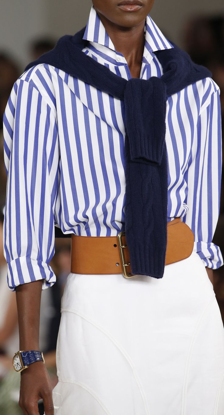 Spring 2016 Ralph Lauren Collection Details