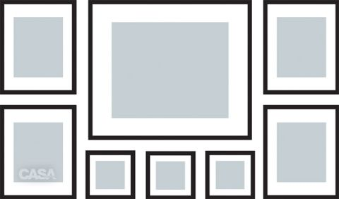 Como pendurar quadros na parede de um jeito bonito? Fotos publicadas na revista CASA CLAUDIA