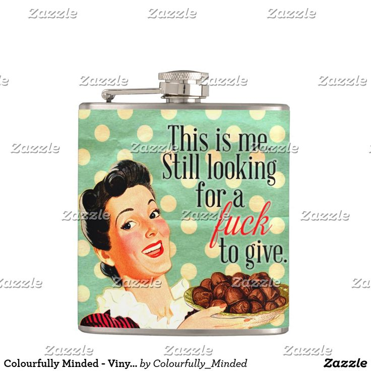 Colourfully Minded - Vinyl Wrapped Flask