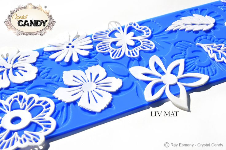 Liv Mat Design Silicone Mats For Lace Edging Pinterest