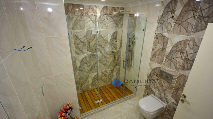 Banyolarda cam Duşakabin ve ahşap tabureli duş ızgarası kullanımı Referans Uygulamalarımızdan  15/03/2016