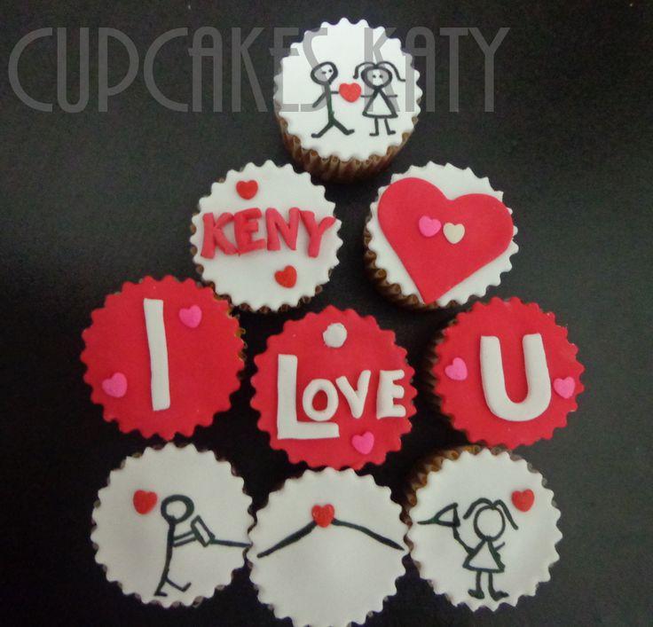 Love Cupcakes. Te Amo. Amor. Cute https://www.facebook.com/CupcakesKaty