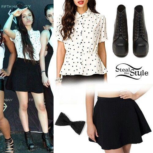 Camila Cabello Outfit Camila Cabello Pinterest Celebrity Style Celebrity And Clothes