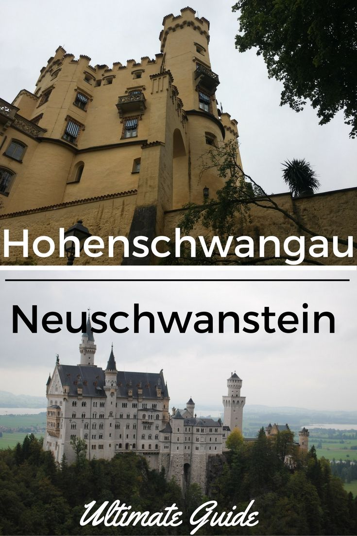 Neuschwanstein Castle in Bavaria, Germany: the inspiration for Disney's Cinderella's Castle