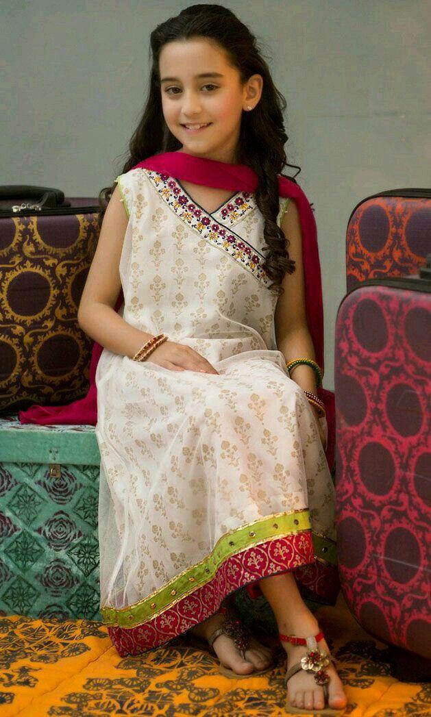 219 best Pakistani kids party wear images on Pinterest ...