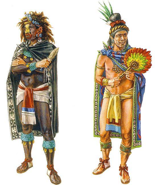"""La Pintura y la Guerra """"Clase alta azteca"""""""