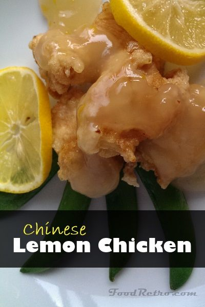 The classic Chinese-takeout lemon chicken with some sweet and spicy optional twists! #Chinese #BetterThanTakeout