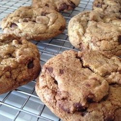 Best Chocolate Chip Cookies - Allrecipes.com. I used Kerrygold and Plugra butters, and added 2 tsp. peppermint extract. Heavenly.