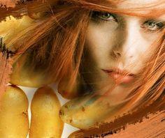 mucize iksirler: kuru cilt bakımı için patates maskesi