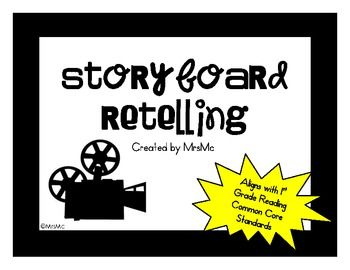 Storyboard Retelling is a simple activity that can be used to practice the skill of retelling. Retelling is an important skill, especially in low...Retelling Activities, Retelling Products, Schools Ideas, Retelling Practice, Simple Activities, Education Ideas, Classroom Reading, Storyboard Retelling, Classroom Ideas