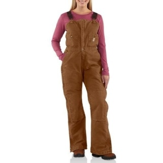 Women's Carhartt bib overalls