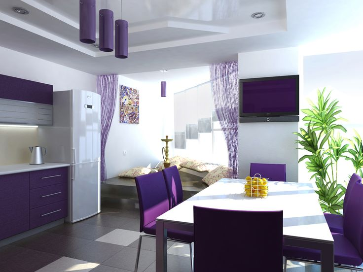 10 ideas about purple kitchen decor on pinterest purple. Black Bedroom Furniture Sets. Home Design Ideas
