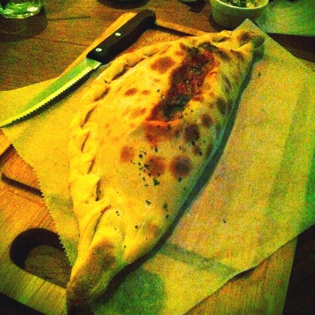 Salmon Larb Calzone ... Spicy Thai flavor and Italian ... Yumm!