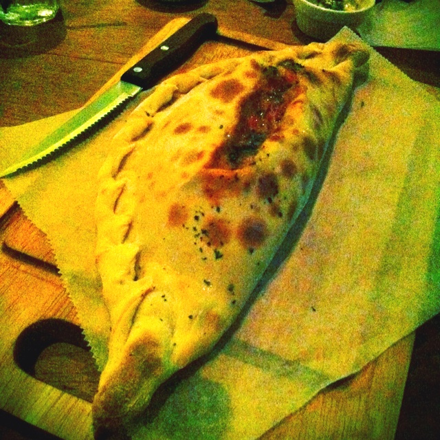 Salmon Larb Calzone ... Spicy Thai flavor and Italian ... Yumm!