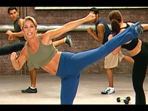 Denise Austin's 20 minute Boot Camp Workout