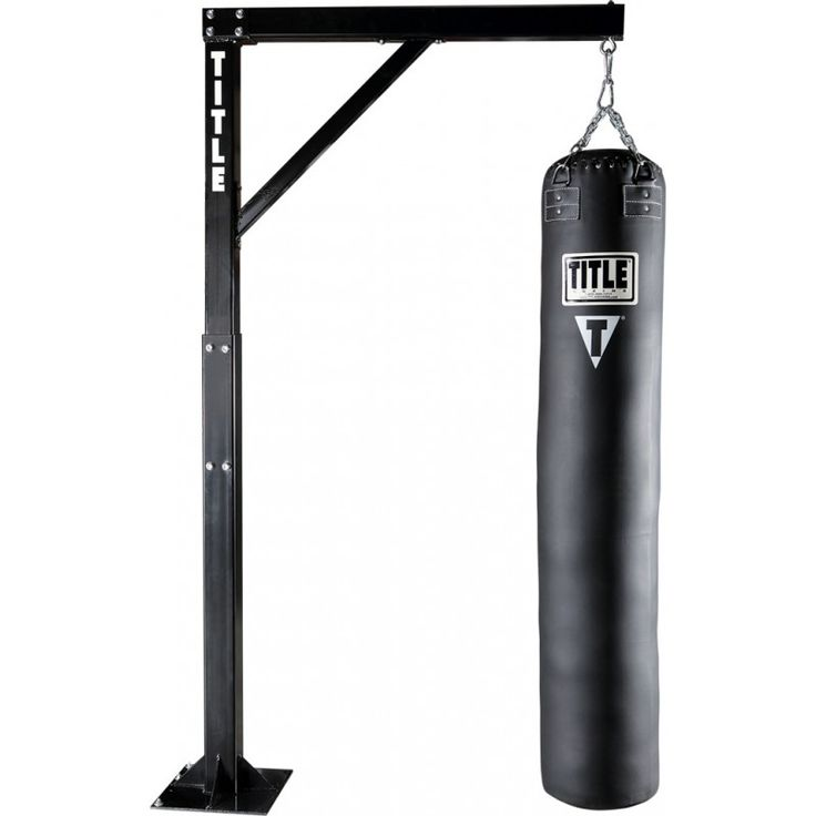 TITLE ADJUSTABLE HEAVY DUTY HEAVY BAG STAND