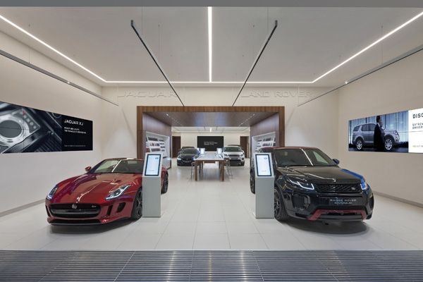 Jaguar Land Rover unveils digital showroom at Westfield Stratford - Retail Focus - Retail Blog For Interior Design and Visual Merchandising