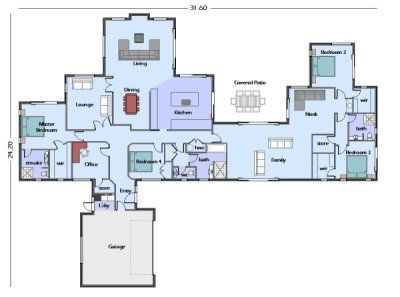 nice custom home design plans. nice guest wing  use of space 21 best House plans images on Pinterest floor