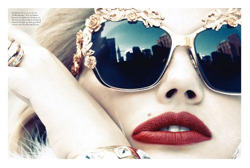 Kate Upton, Vogue Italia, November 2012