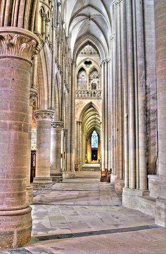 Coutances Cathedral, Coutances, Normandy, France by Nick Garrod