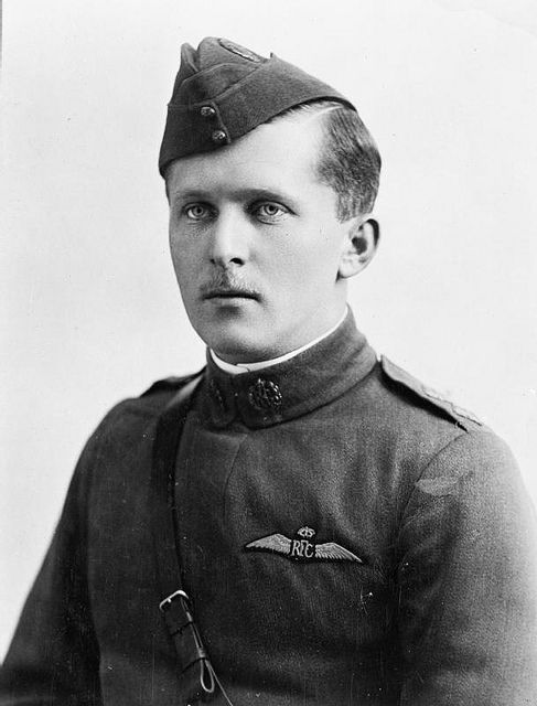 WWI Ace - William Avery Bishop  60 Squadron, Royal Flying Corps  William Avery Bishop, better known as Billy Bishop, Royal Flying Corps was awarded the VC for the following action on the Western Front in France:  On 2 June 1917, whilst serving with No 60 Squadron RFC, Bishop flew a solo mission behind enemy lines to attack a German-held aerodrome, where he shot down three aircraft that were taking off to attack him and destroyed several more on the ground.